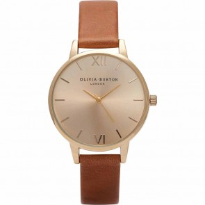 Olivia Burton Watch - Midi Dial - Tan & Gold
