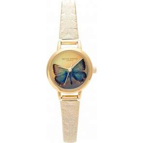 Olivia Burton Watch - Woodland - Mesh Butterfly Gold II