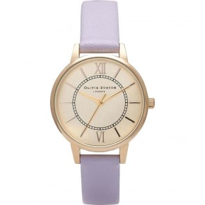 Olivia Burton Watch - Wonderland - Lilac & Gold
