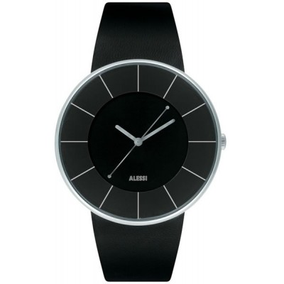 Alessi Watch - Luna - Black