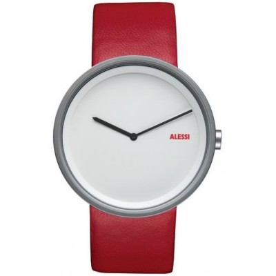 Alessi Watch - Out Time - Red