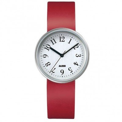 Alessi Watch - Record - Red - Small