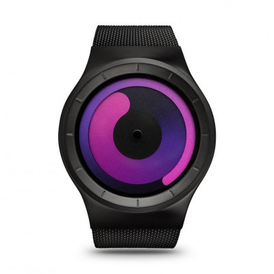 ZIIIRO Watch - Mercury - Black/Purple